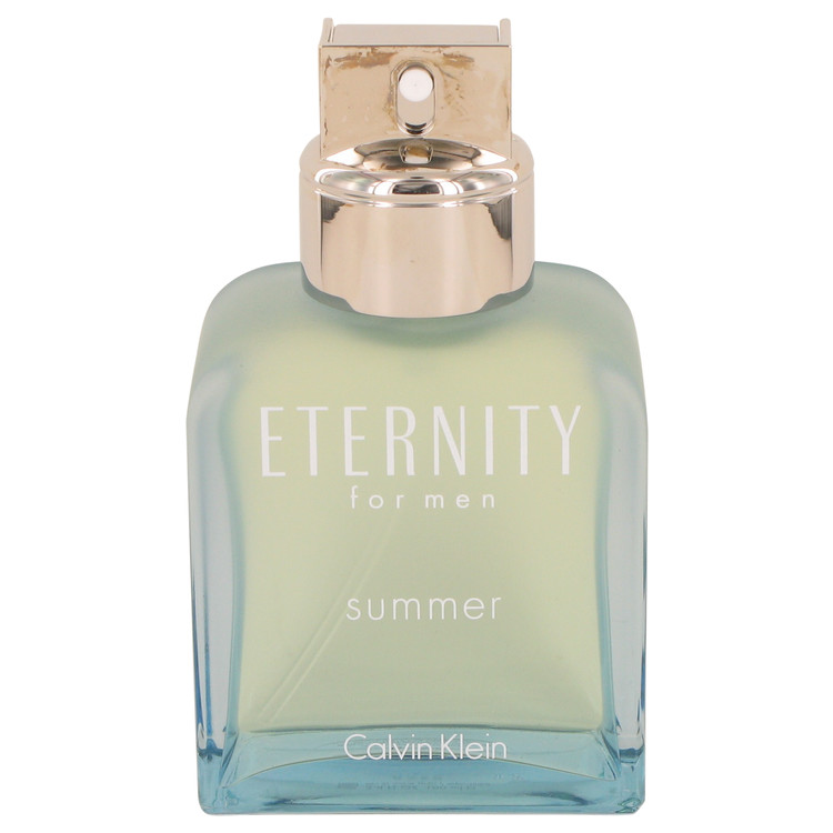 Eternity Summer Cologne 3.4 oz EDT Spray (2012 Tester) for Men