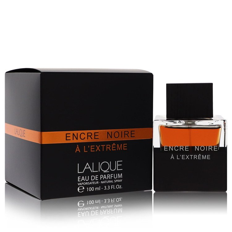 Encre Noire A L'extreme Cologne by Lalique 100 ml EDP Spay for Men