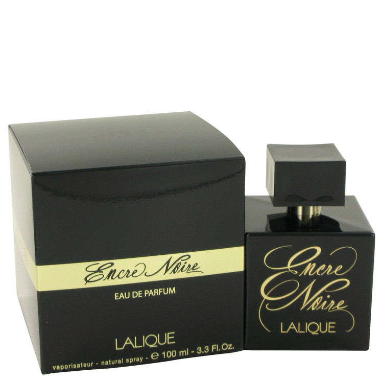 Encre Noire Perfume by Lalique 100 ml Eau De Parfum Spray for Women