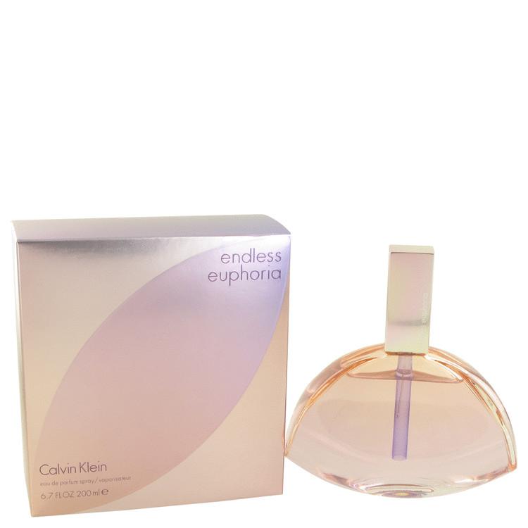 Endless Euphoria by Calvin Klein for Women Eau De Parfum Spray 6.7 oz