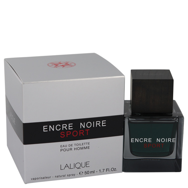 Encre Noire Sport Cologne by Lalique 1.7 oz EDT Spay for Men