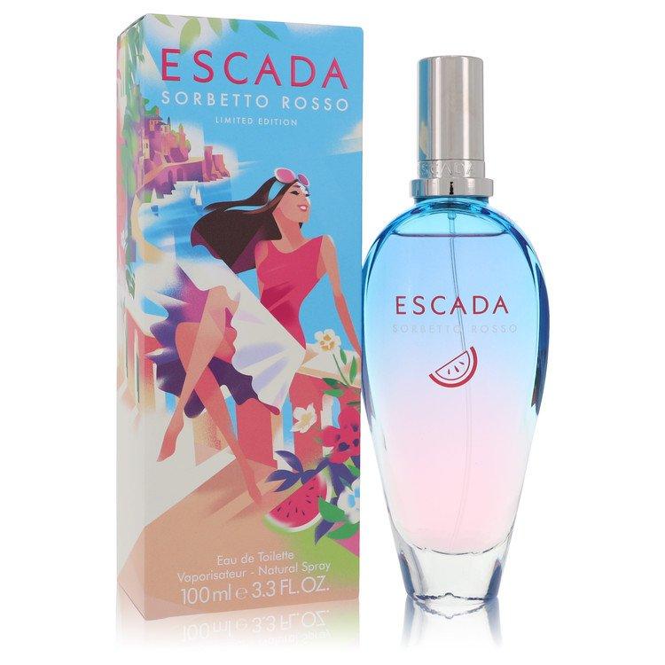 Escada Sorbetto Rosso Perfume by Escada 100 ml EDT Spay for Women