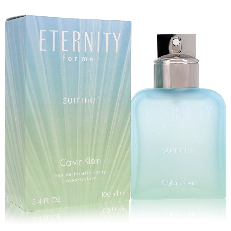 Eternity Summer Cologne 3.4 oz EDT Spray (2016) for Men