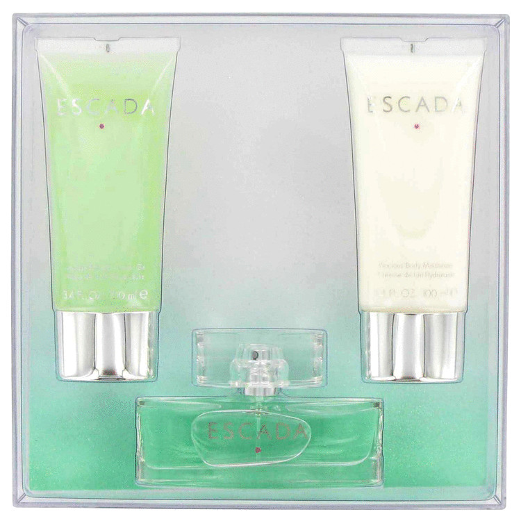 Escada Signature Gift Set -- Gift Set - 1.7 oz Eau De Parfum Spray + 3.4 oz Body Lotion + 3.4 oz Shower Gel for Women