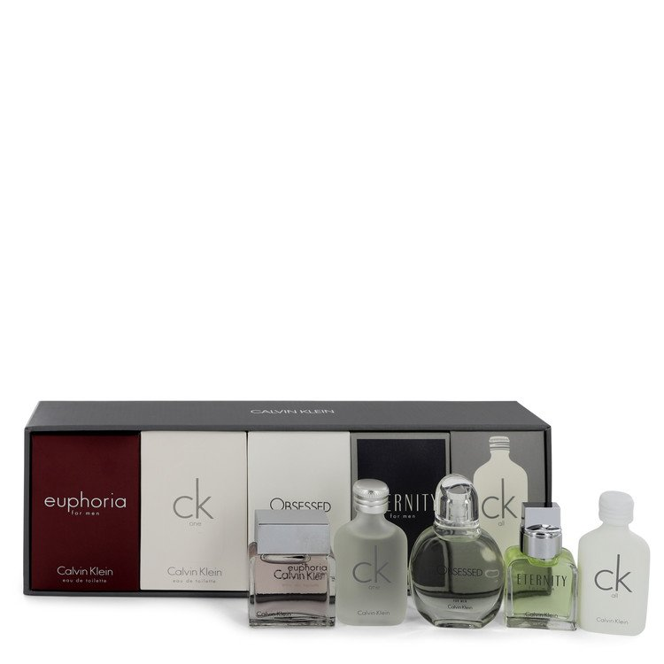 Eternity Gift Set -- Gift Set - Deluxe Fragrance Collection Includes CK One, Euphoria, CK All, Obsessed and Eternity for Women