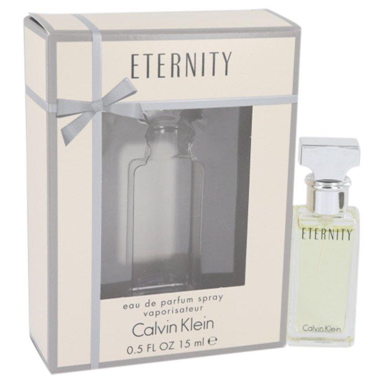 ETERNITY by Calvin Klein for Women Eau De Parfum Spray .5 oz