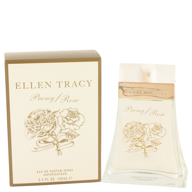 Ellen Tracy Peony Rose Perfume 100 ml EDP Spay for Women