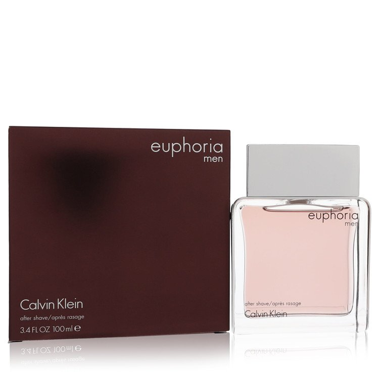 Euphoria After Shave by Calvin Klein 3.4 oz After Shave for Men