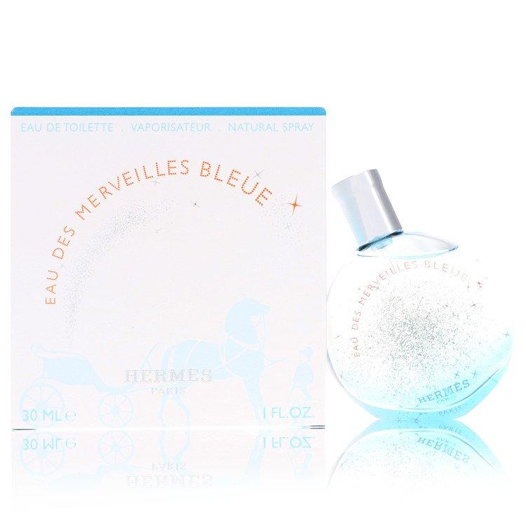Eau Des Merveilles Bleue by Hermes Women's Eau De Toilette Spray 1 oz