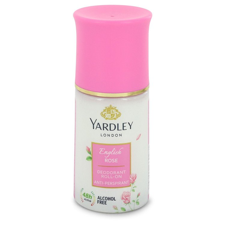 English Rose Yardley by Yardley London Women's Deodorant Roll-On Alcohol Free 1.7 oz