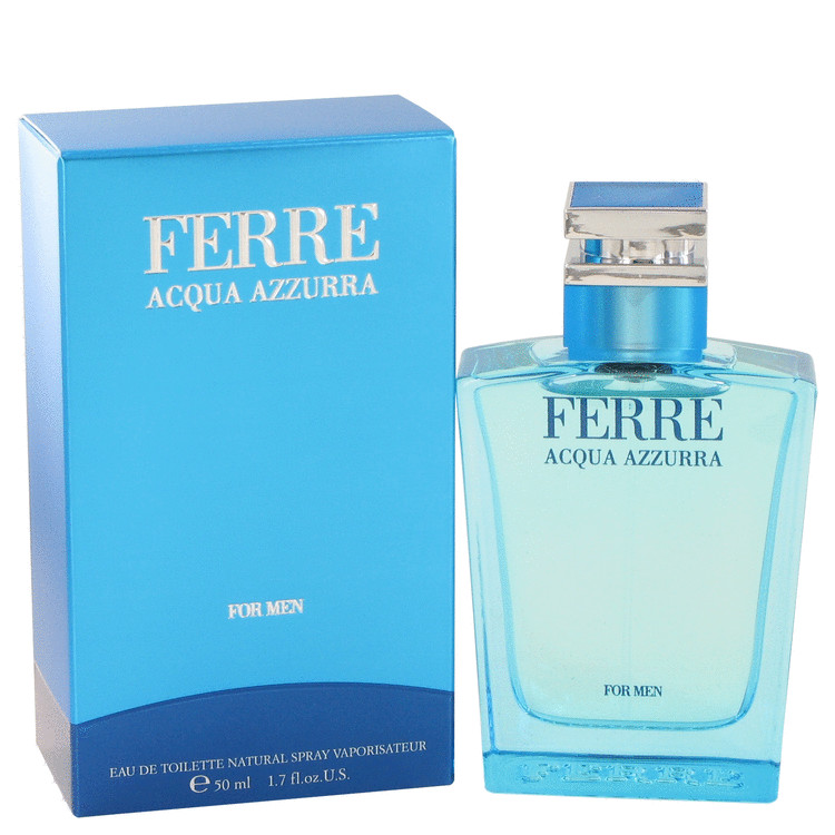 Ferre Acqua Azzurra Cologne 1.7 oz EDT Spay for Men