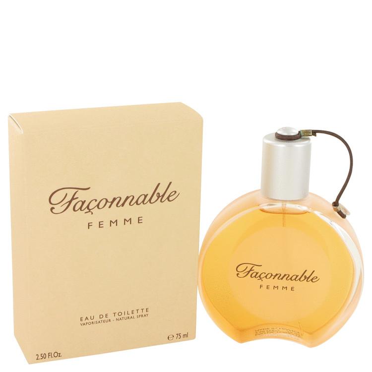 Faconnable Perfume by Faconnable 75 ml Eau De Toilette Spray for Women