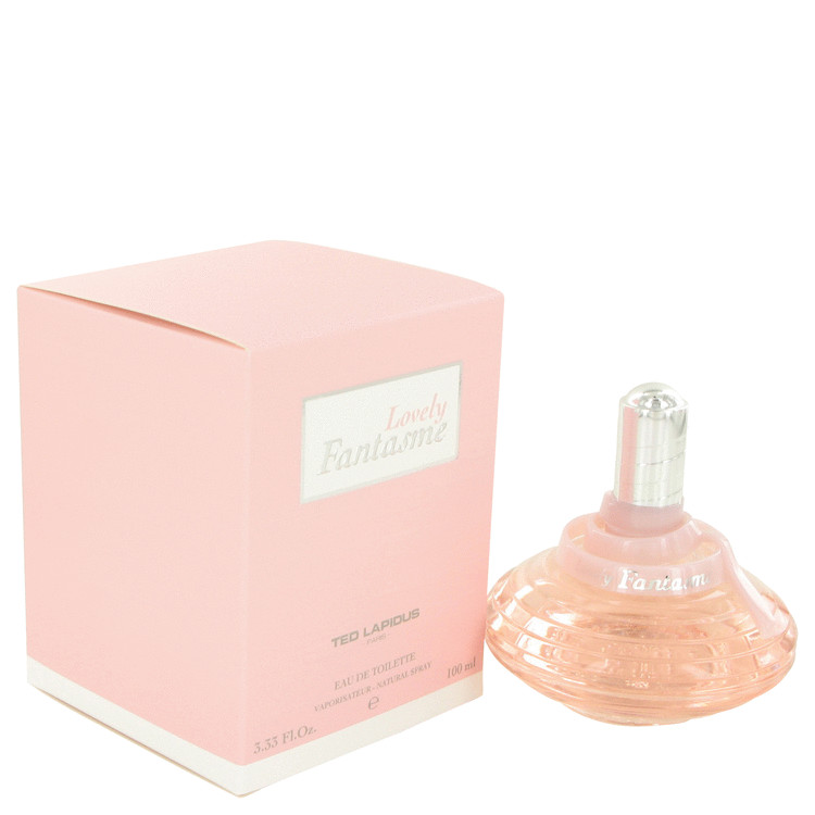 Lovely Fantasme Perfume by Ted Lapidus 100 ml EDT Spay for Women