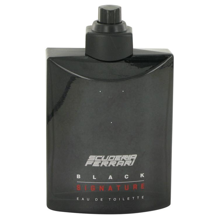 Ferrari Scuderia Black Signature Cologne 125 ml EDT Spray(Tester) for Men
