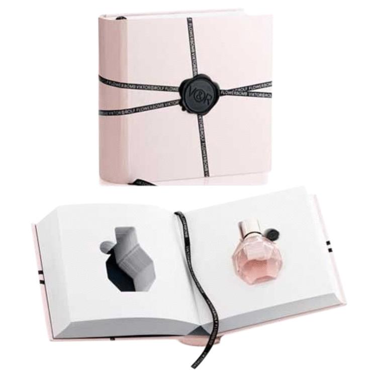 Flowerbomb Perfume 50 ml Eau De Parfum Spray in Victor & Rolf Book for Women