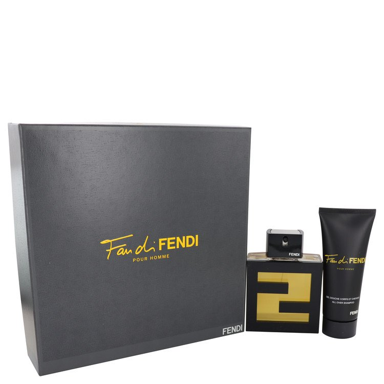 Fan Di Fendi Gift Set -- Gift Set - 3.4 oz Eau De Toilette Spray + 3.3 oz Shower Gel for Men