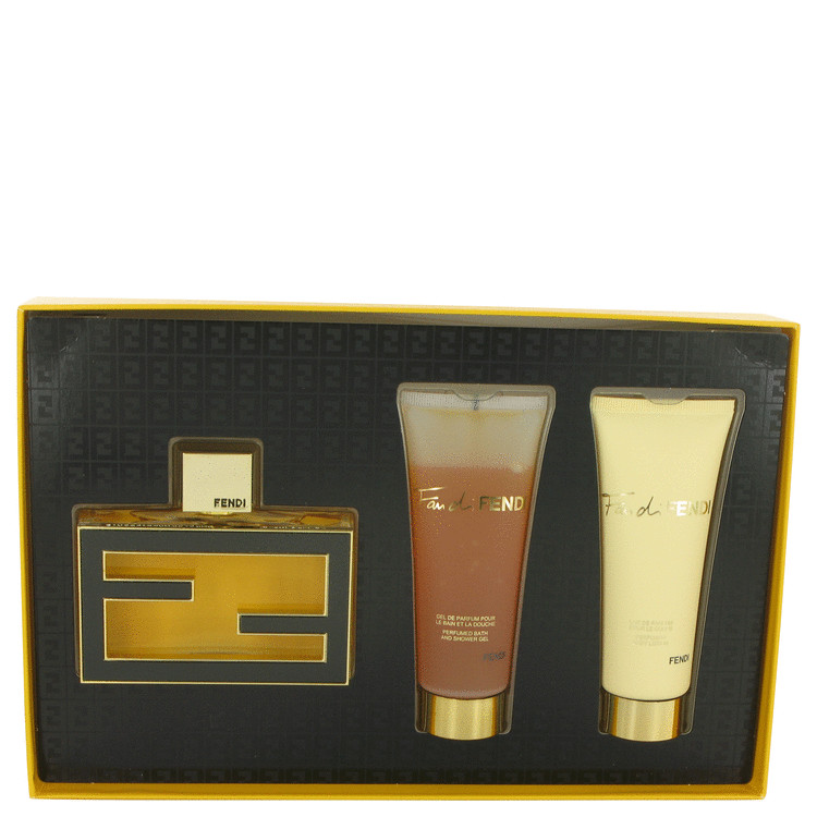 Fan Di Fendi Extreme Gift Set -- Gift Set - 2.5 oz Eau De Parfum Spray + 2.5 oz Body Lotion + 2.5 oz Shower Gel for Women