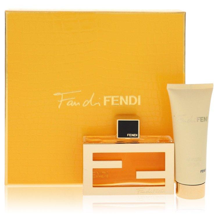 Fan Di Fendi by Fendi –  Gift Set — 2.5 oz Eau De Parfum Spray + 2.5 oz Body Lotion — for Women