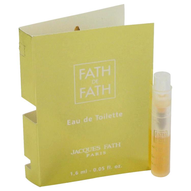 FATH DE FATH by Jacques Fath for Women Vial (sample) .03 oz