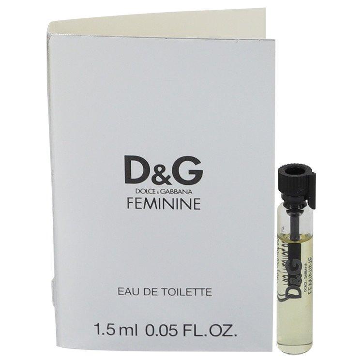 FEMININE by Dolce & Gabbana for Women Vial (sample) .05 oz