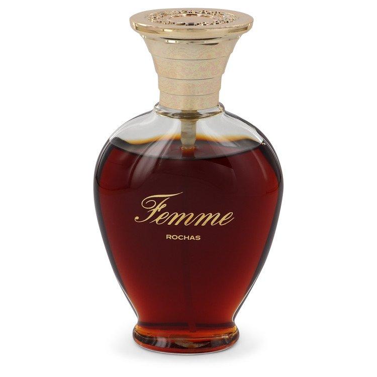 Femme Rochas Perfume 3.4 oz Parfum De Toilette Spray (unboxed) for Women