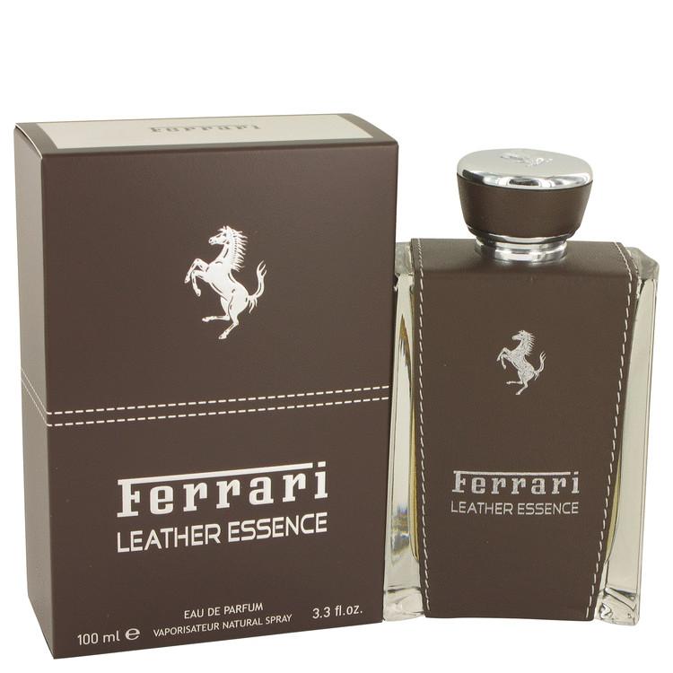Ferrari Leather Essence Cologne by Ferrari 100 ml EDP Spay for Men