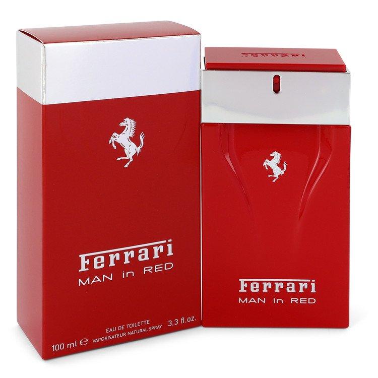 Ferrari Man In Red Cologne by Ferrari 100 ml EDT Spay for Men