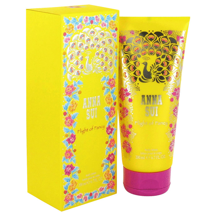 Flight Of Fancy Body Lotion by Anna Sui 6.7 oz Body Lotion for Women