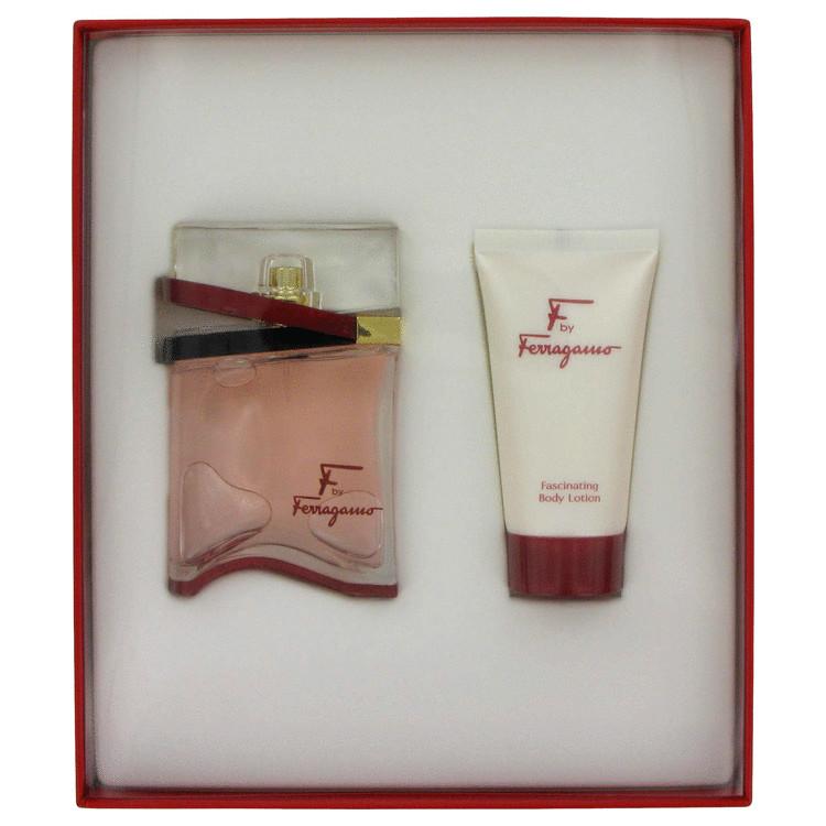 F Gift Set -- Gift Set - 1.7 oz Eau De Parfum Spray + 1.7 oz Body Lotion for Women
