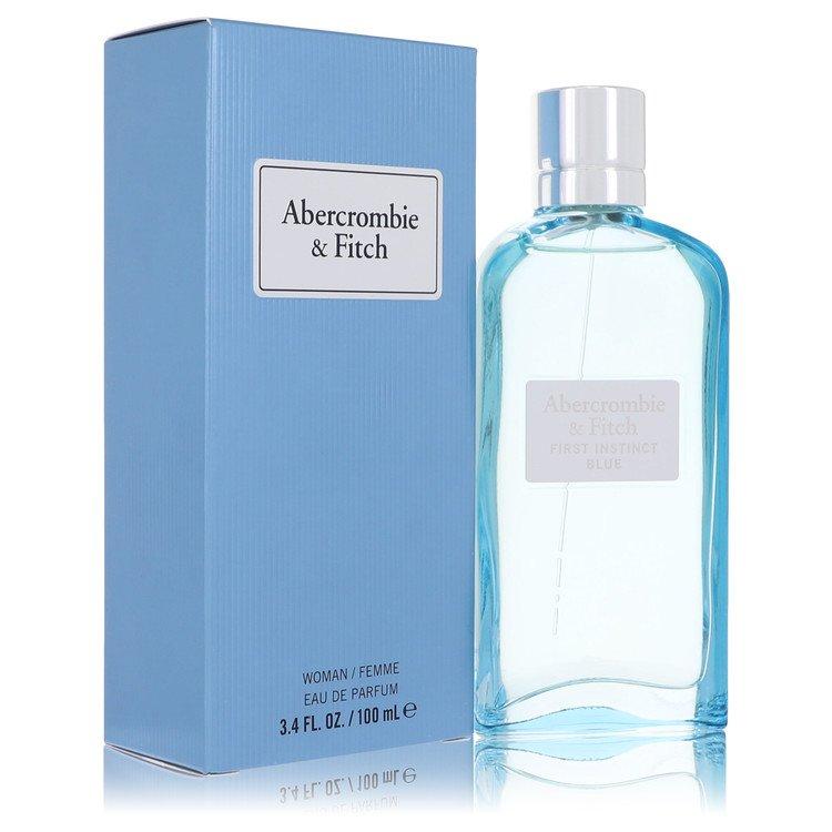 First Instinct Blue by Abercrombie & Fitch Eau De Parfum Spray 3.4 oz for Women