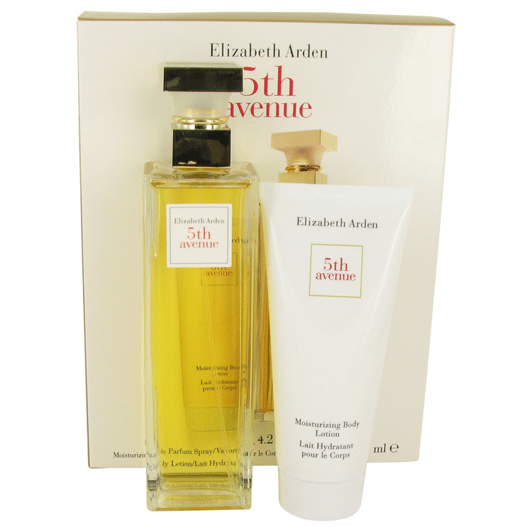 5th Avenue Gift Set -- Gift Set - 4.2 oz Eau De Parfum Spray + 3.3 oz Body Lotion for Women