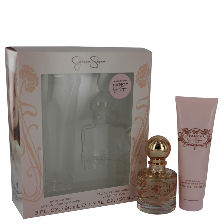 Fancy Gift Set -- Gift Set - 1.7 oz Eau De Parfum Spray + 3 oz Body Lotion for Women