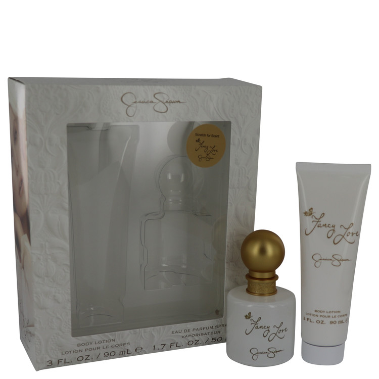 Fancy Love by Jessica Simpson Women's Gift Set -- 1.7 oz Eau De Parfum Spray + 3 oz Body Lotion