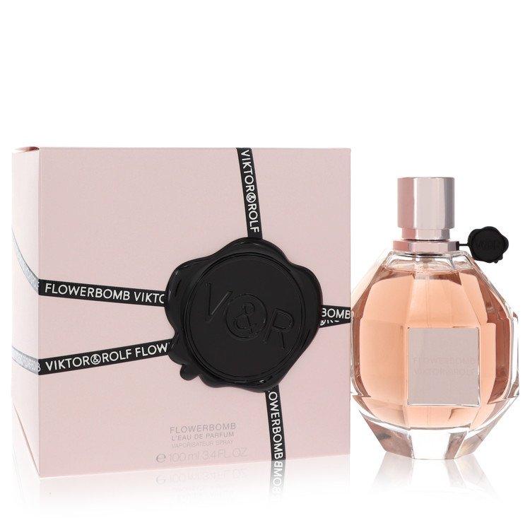 Flowerbomb Perfume by Viktor & Rolf 100 ml EDP Spay for Women