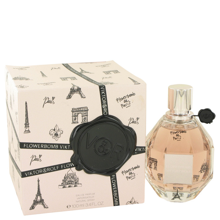 Flowerbomb De Paris Perfume 100 ml Eau De Parfum Spray (Limited Edition) for Women