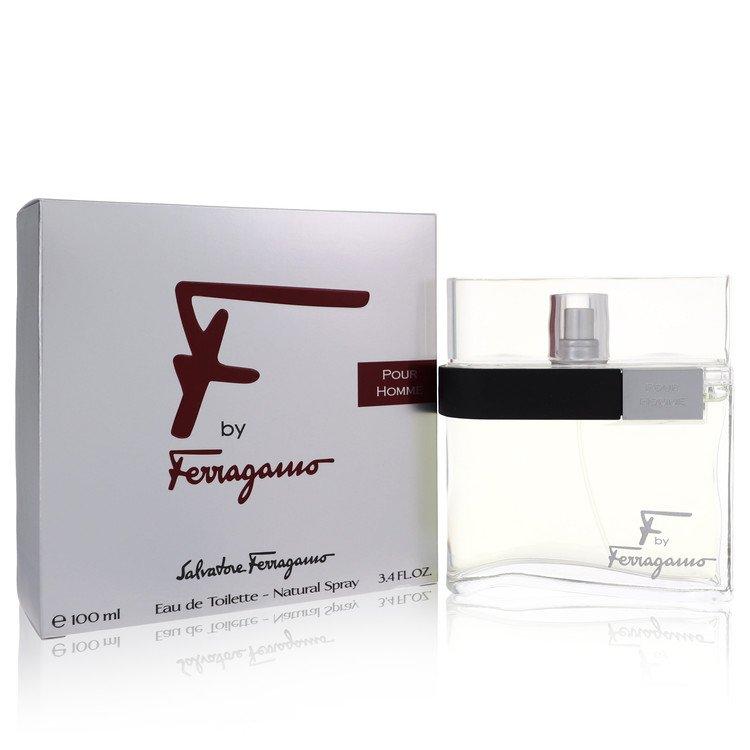 F Cologne by Salvatore Ferragamo 100 ml Eau De Toilette Spray for Men