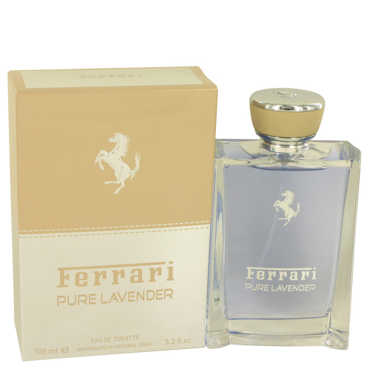 Ferrari Pure Lavender Cologne 100 ml Eau De Toilette Spray (Unisex) for Men
