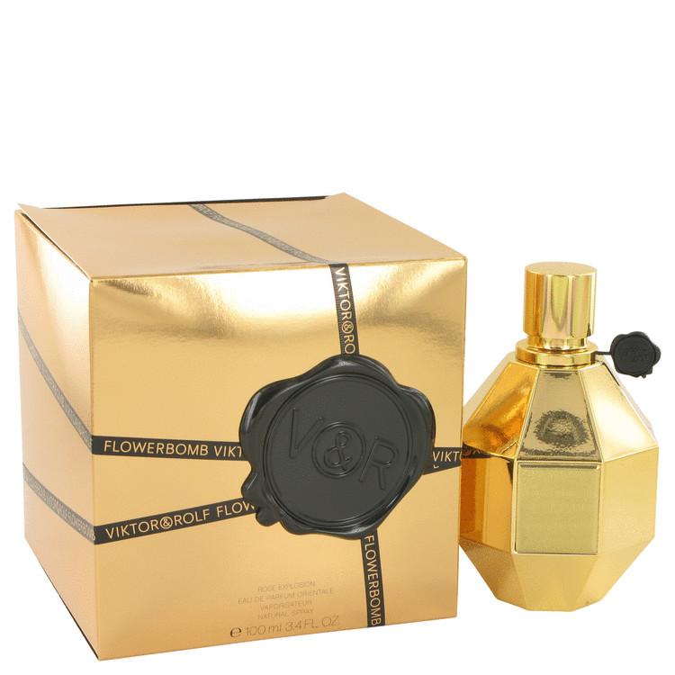 Flowerbomb Rose Explosion Perfume 100 ml EDP Spay for Women