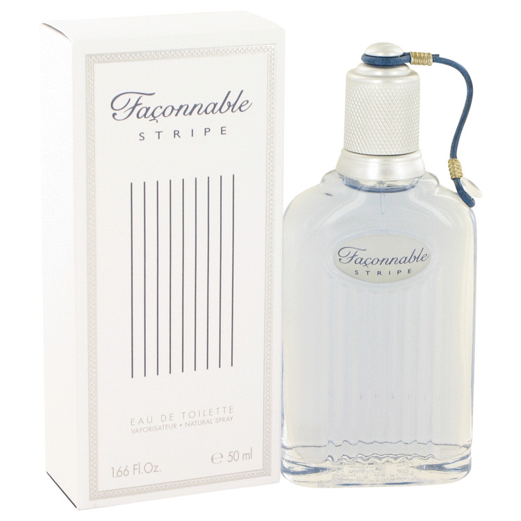Faconnable Stripe Cologne by Faconnable 50 ml EDT Spay for Men