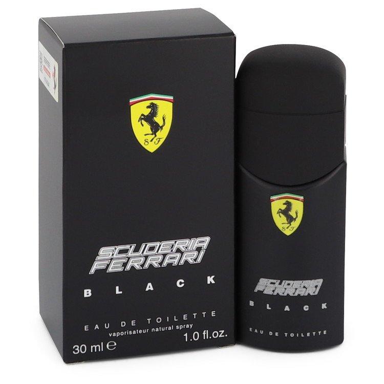Ferrari Scuderia Black Cologne by Ferrari 30 ml EDT Spay for Men