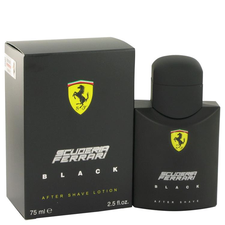 Ferrari Scuderia Black After Shave 2.5 oz After Shave for Men