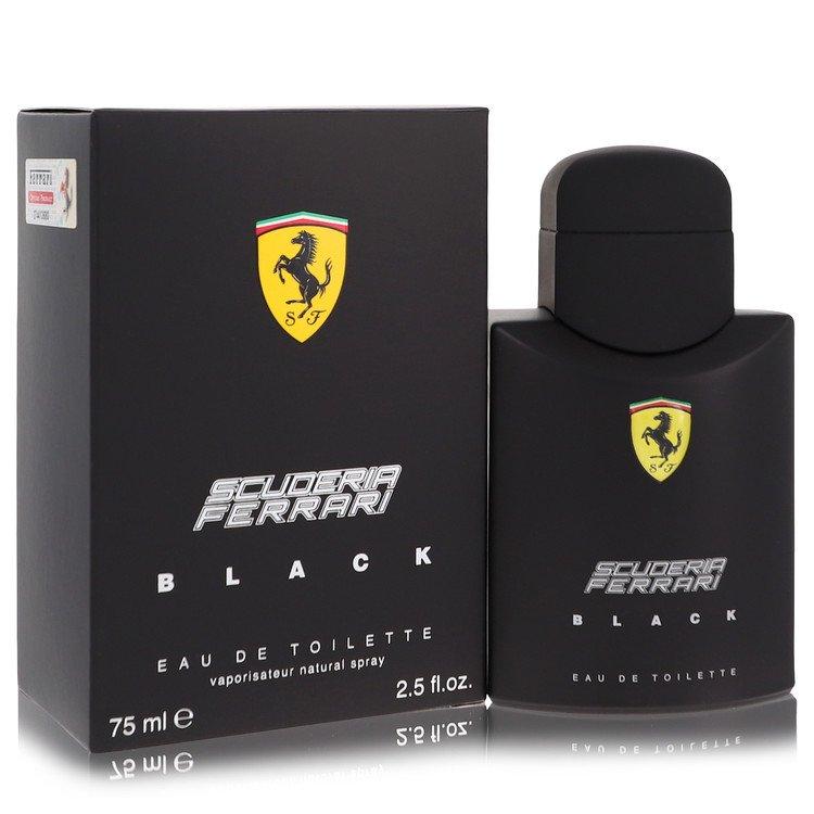 Ferrari Scuderia Black Cologne by Ferrari 75 ml EDT Spay for Men