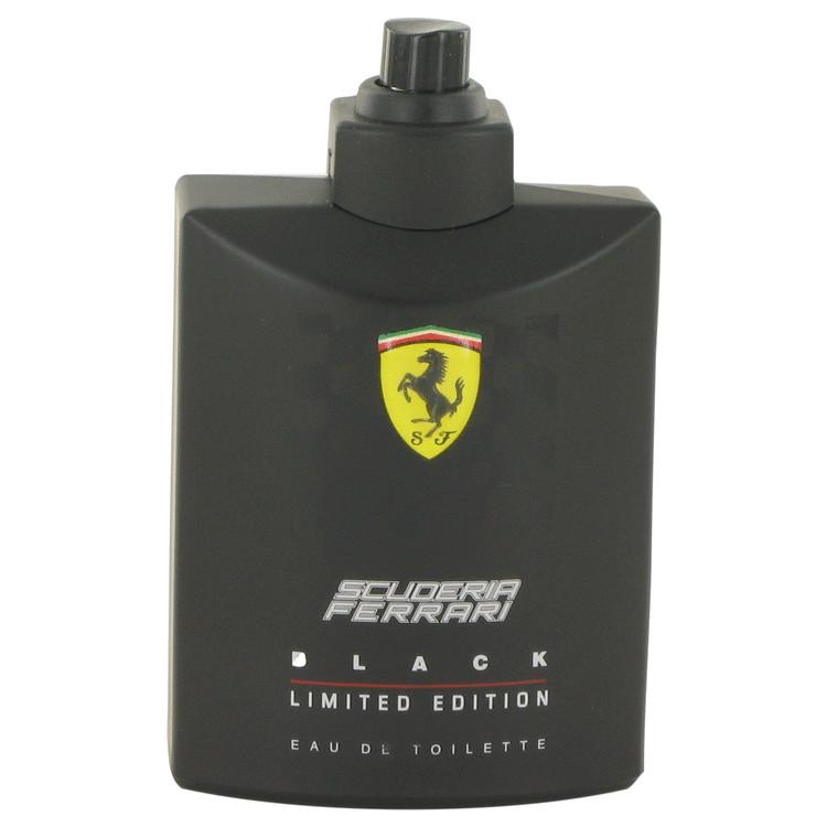 Ferrari Scuderia Black Cologne 125 ml Eau De Toilette Spray (Limited Edition Bottle Tester) for Men