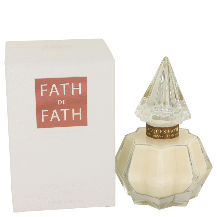 Fath De Fath Body Lotion by Jacques Fath 3.4 oz Body Lotion for Women