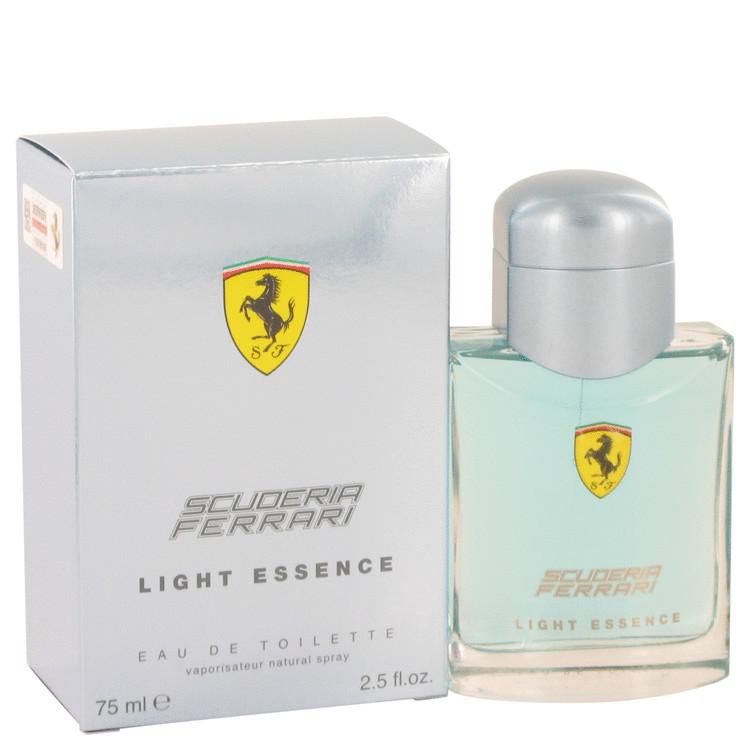 Ferrari Scuderia Light Essence Cologne 75 ml EDT Spay for Men