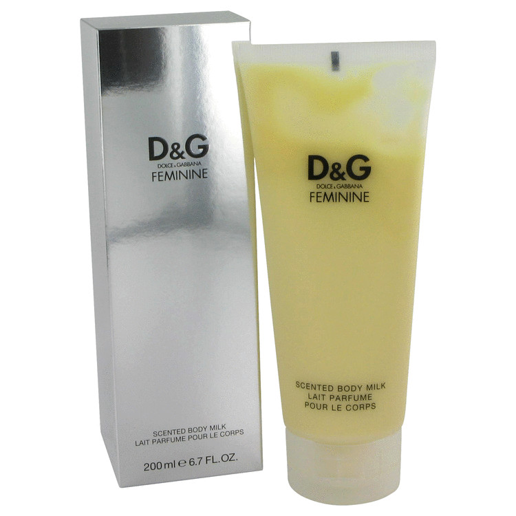 Feminine Body Lotion by Dolce & Gabbana 6.7 oz Body Milk for Women