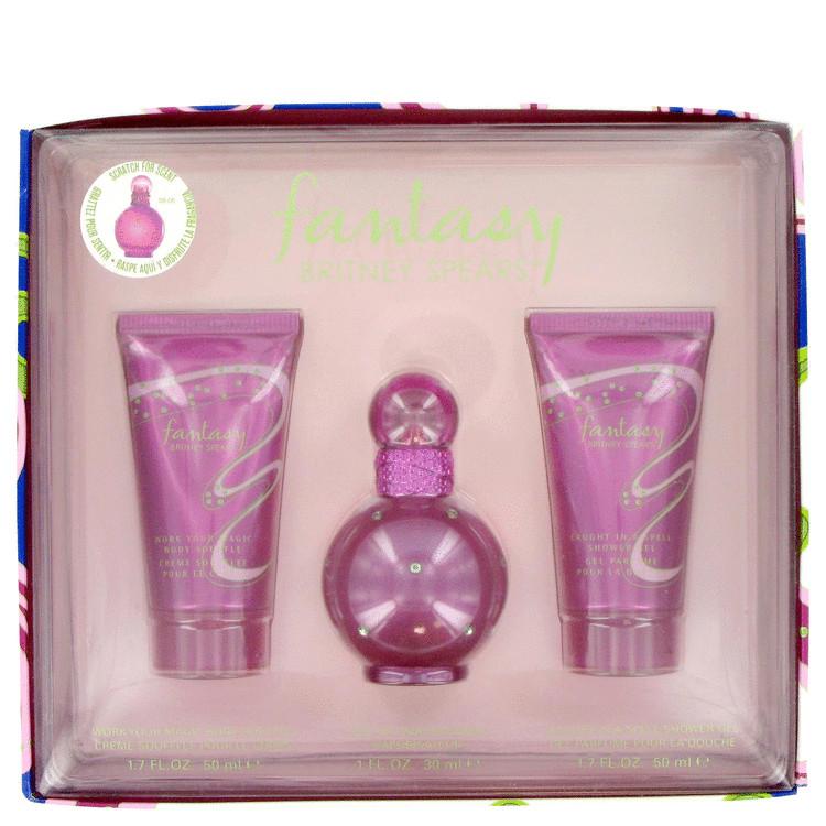 Fantasy Gift Set -- Gift Set - 1 oz Eau De Parfum Spray + 1.7 oz Body Lotion + 1.7 oz Shower Gel for Women