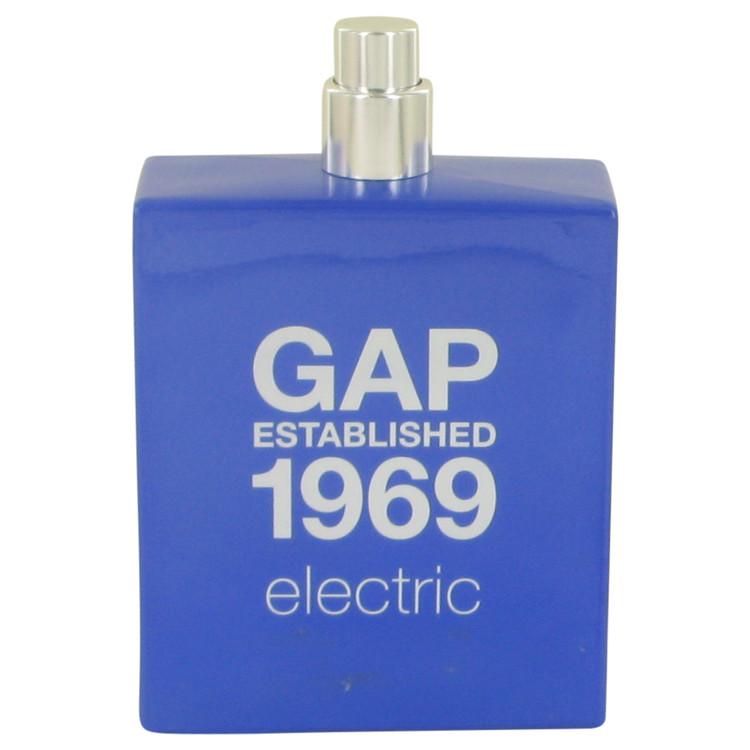Gap 1969 Electric by Gap for Men Eau De Toilette Spray (Tester) 3.4 oz