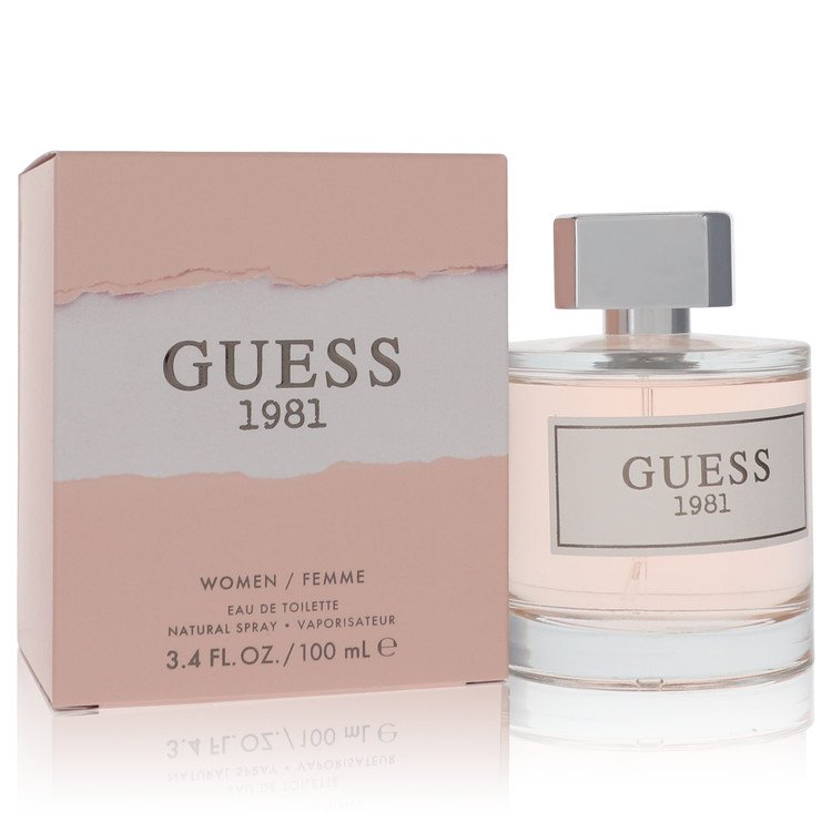 Guess 1981 Perfume by Guess 100 ml Eau De Toilette Spray for Women