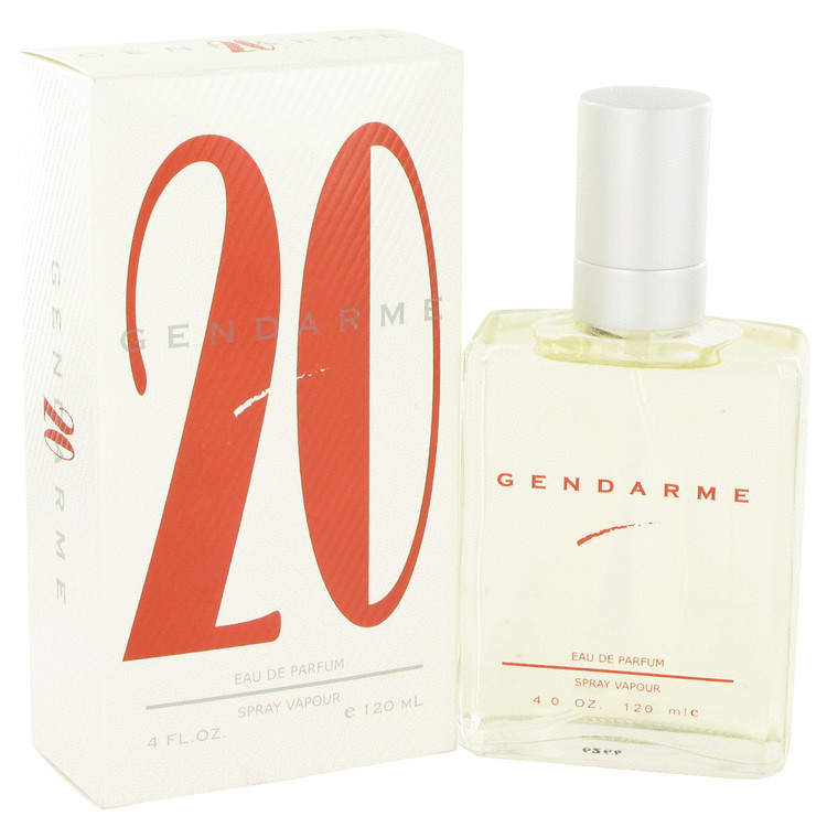 Gendarme 20 Cologne by Gendarme 120 ml Eau De Parfum Spray for Men
